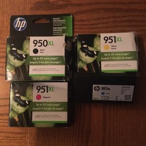 HP ink 951 clients & 950xl - x 4